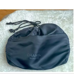 CHANEL Nylon Cosmetic Pouch NEW